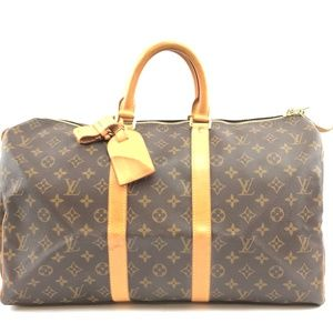 Keepall Duffle  Monogram Canvas Weekend/Travel Bag